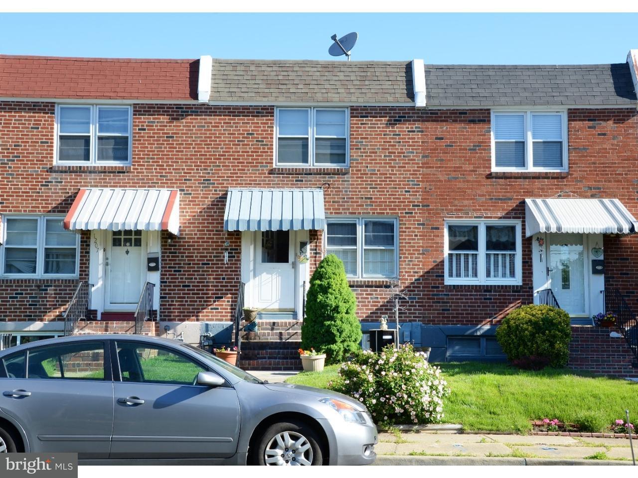 Casa unifamiliar adosada (Townhouse) por un Venta en 1205 SYCAMORE Avenue Elsmere, Delaware 19805 Estados Unidos