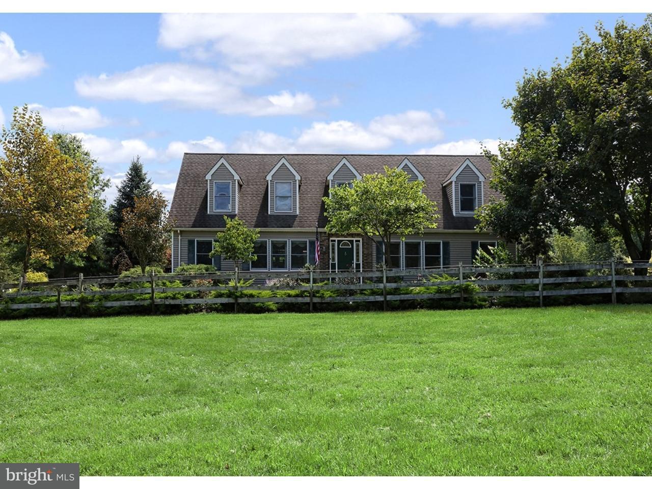 Casa Unifamiliar por un Venta en 34 LARSEN Road Ringoes, Nueva Jersey 08551 Estados UnidosEn/Alrededor: East Amwell Township