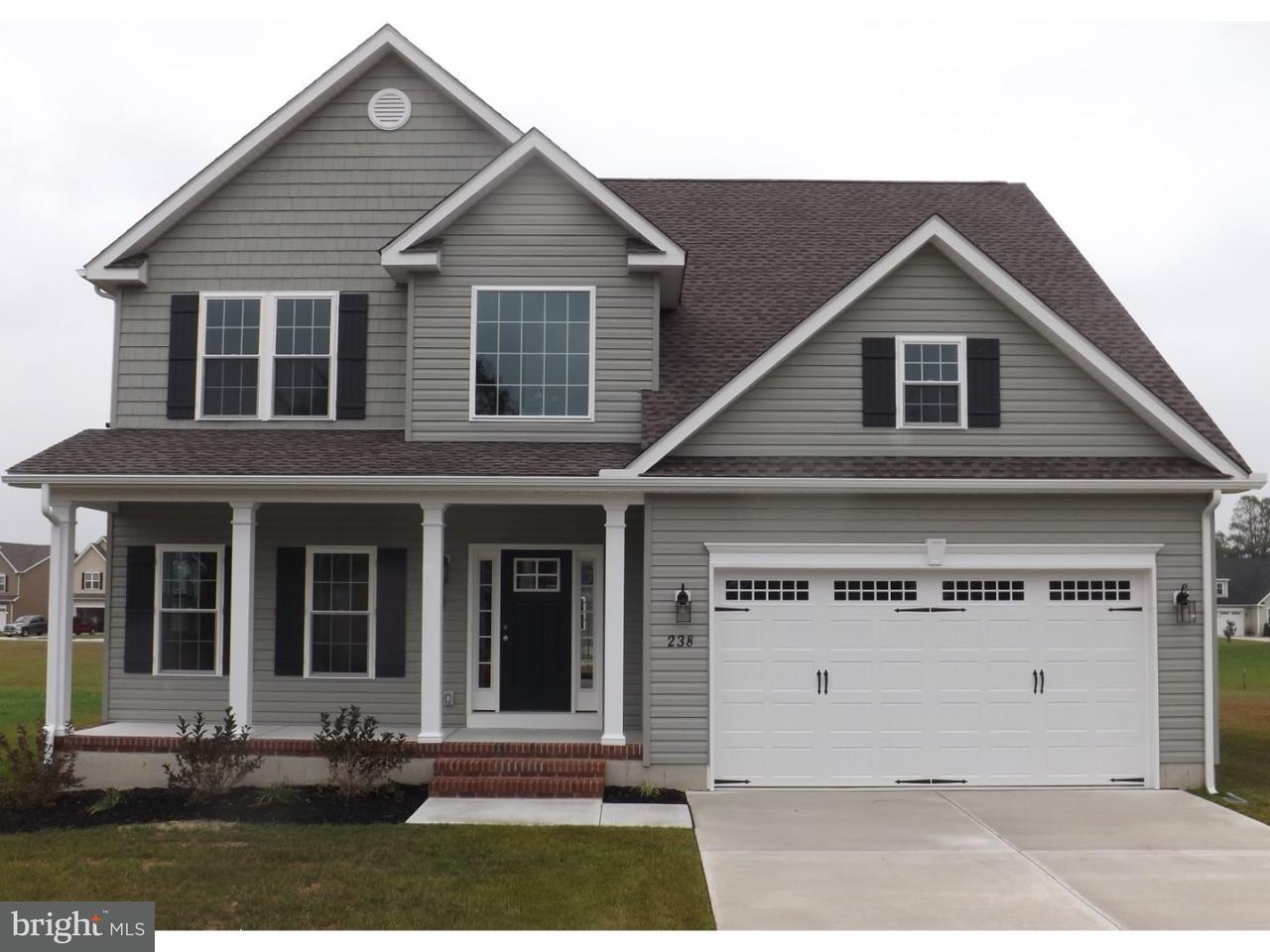 Maison unifamiliale pour l Vente à 238 HIGHTIDE Drive Frederica, Delaware 19946 États-Unis