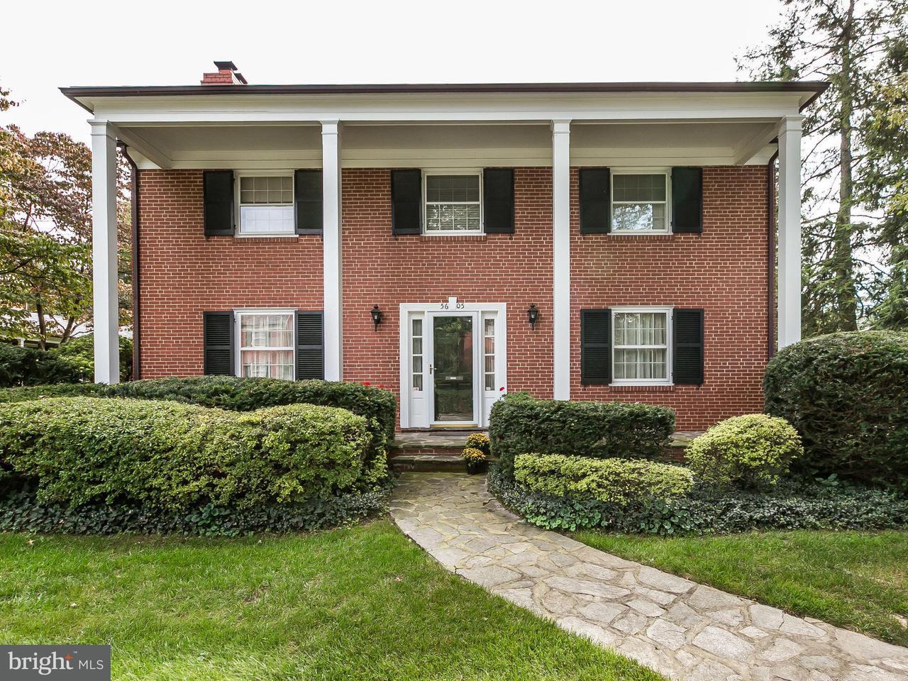 단독 가정 주택 용 매매 에 5605 ENDERLY Road 5605 ENDERLY Road Baltimore, 메릴랜드 21212 미국