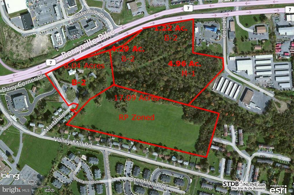 土地 為 出售 在 1514 BERRYVILLE PIKE 1514 BERRYVILLE PIKE Winchester, 弗吉尼亞州 22603 美國