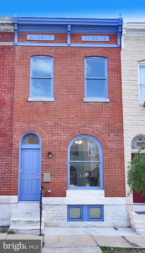 Single Family for Sale at 2319 Ashland Ave Baltimore, Maryland 21205 United States
