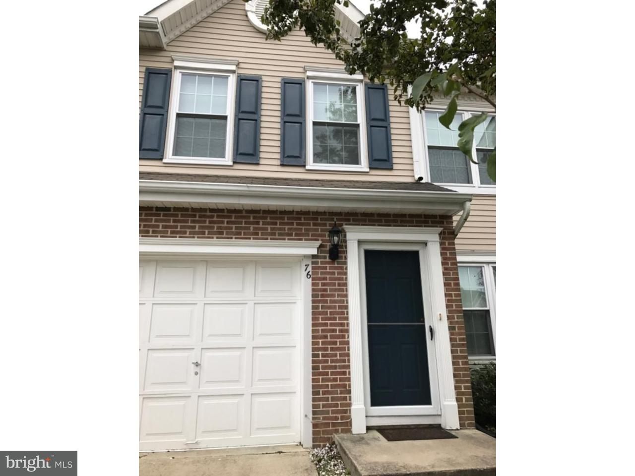 Condominium for Rent at 76 BIDDLE WAY Mount Laurel, New Jersey 08054 United States
