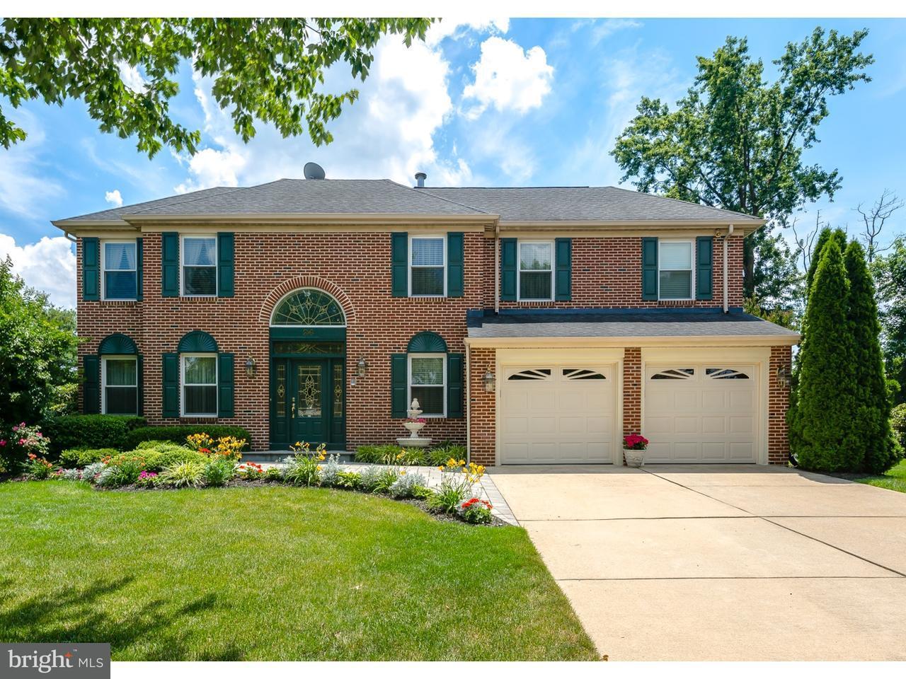 Maison unifamiliale pour l Vente à 24 DOMINION Drive Evesham, New Jersey 08053 États-Unis