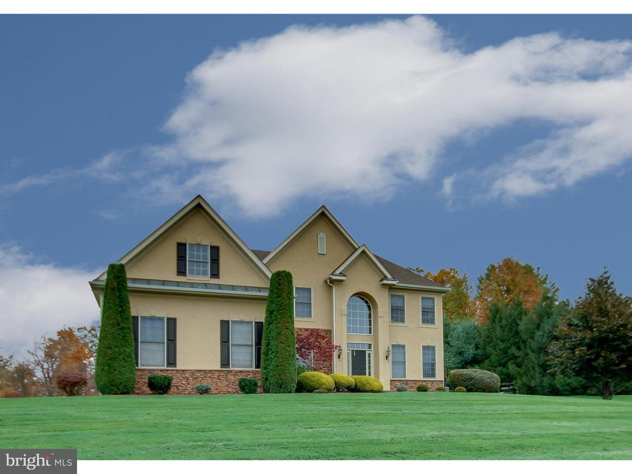 独户住宅 为 销售 在 120 PEACH BLOSSOM Lane Ivyland, 宾夕法尼亚州 18974 美国