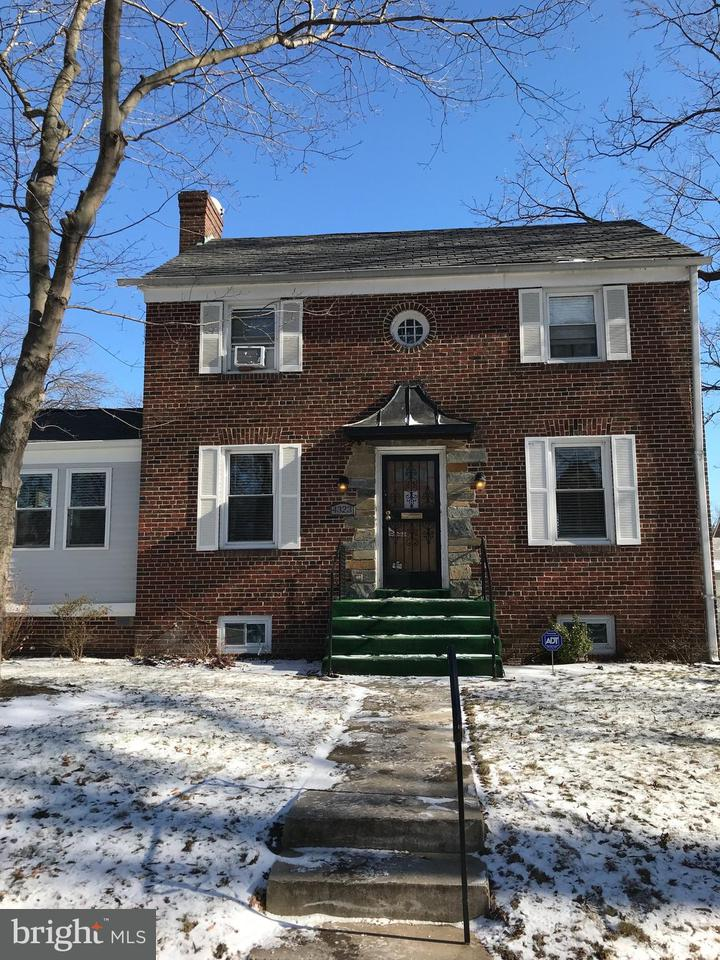 Single Family Home for Sale at 4323 19TH ST NE 4323 19TH ST NE Washington, District Of Columbia 20018 United States