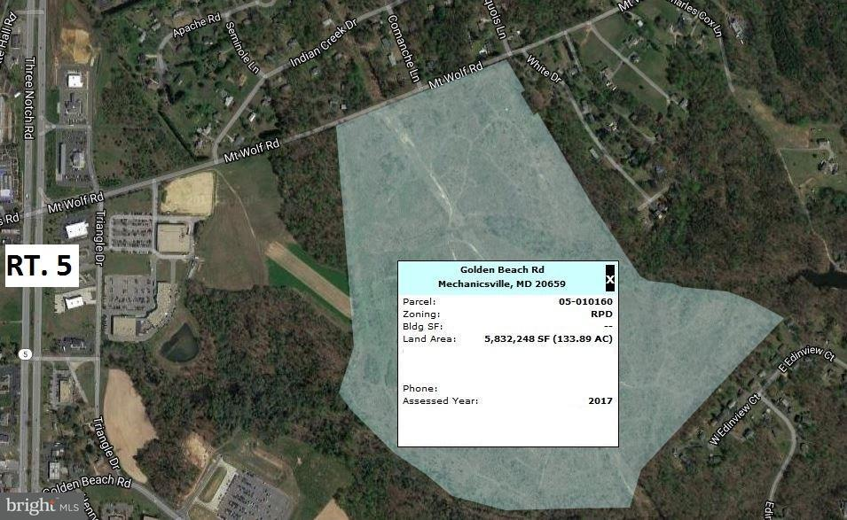 Land for Sale at MT WOLF/ GOLDEN BEACH Road MT WOLF/ GOLDEN BEACH Road Mechanicsville, Maryland 20659 United States