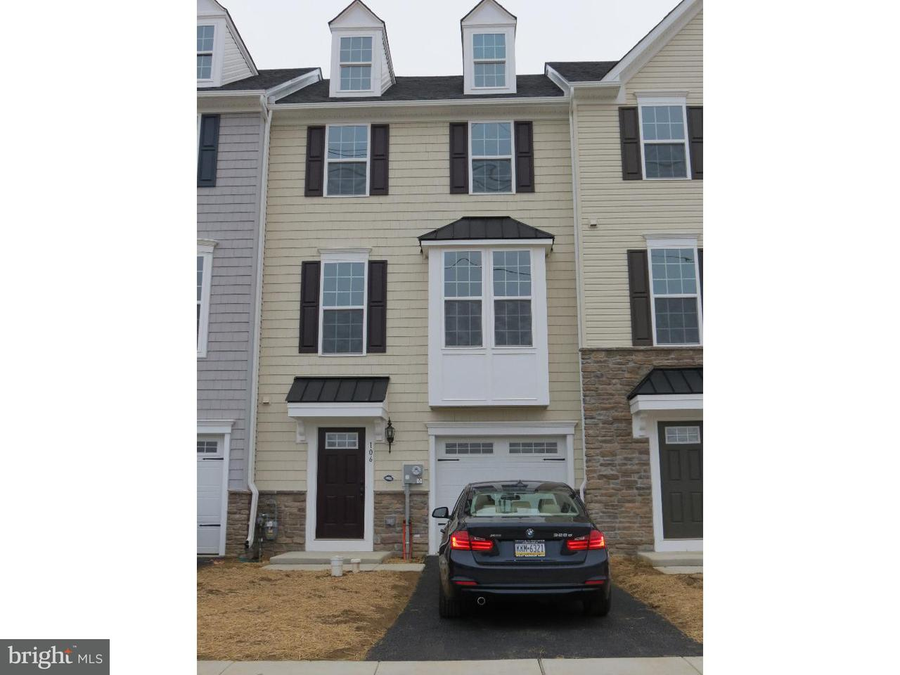 Townhouse for Rent at 106 CRICKET Drive Malvern, Pennsylvania 19355 United States