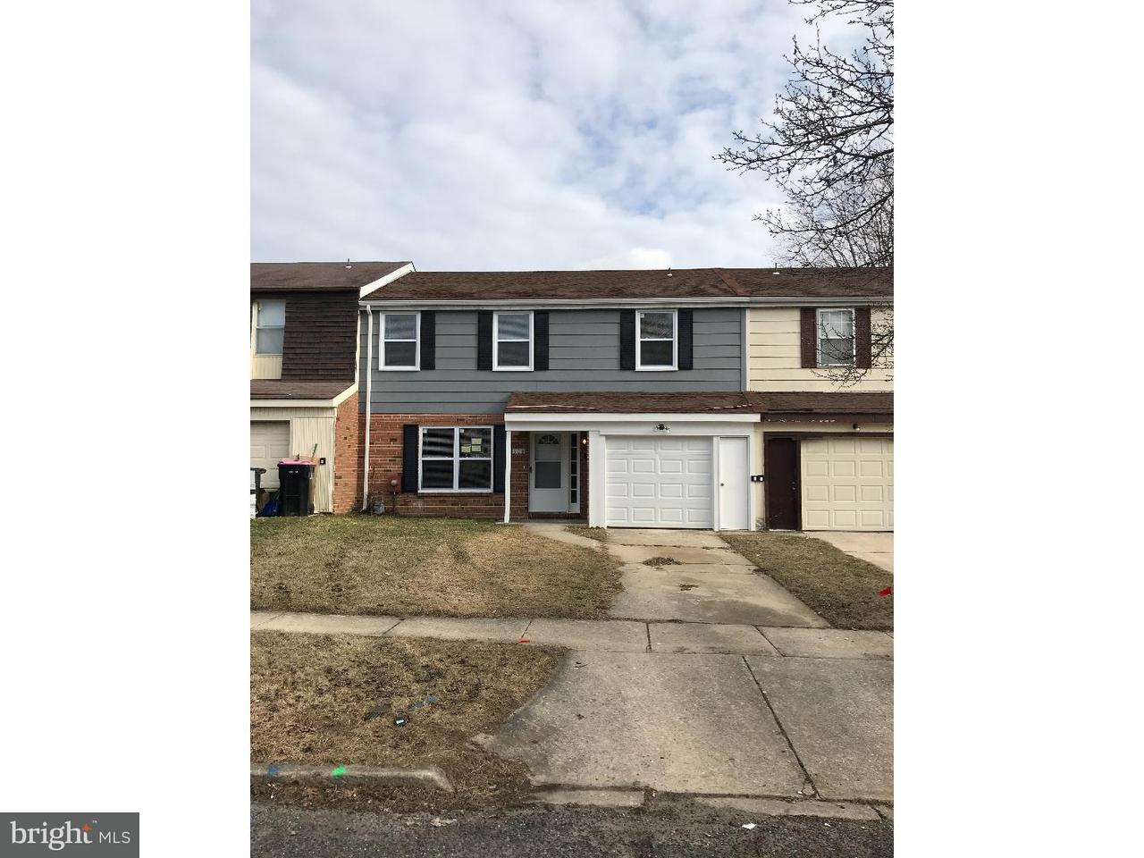 Casa unifamiliar adosada (Townhouse) por un Alquiler en 504 WINDING WAY Clementon, Nueva Jersey 08021 Estados Unidos