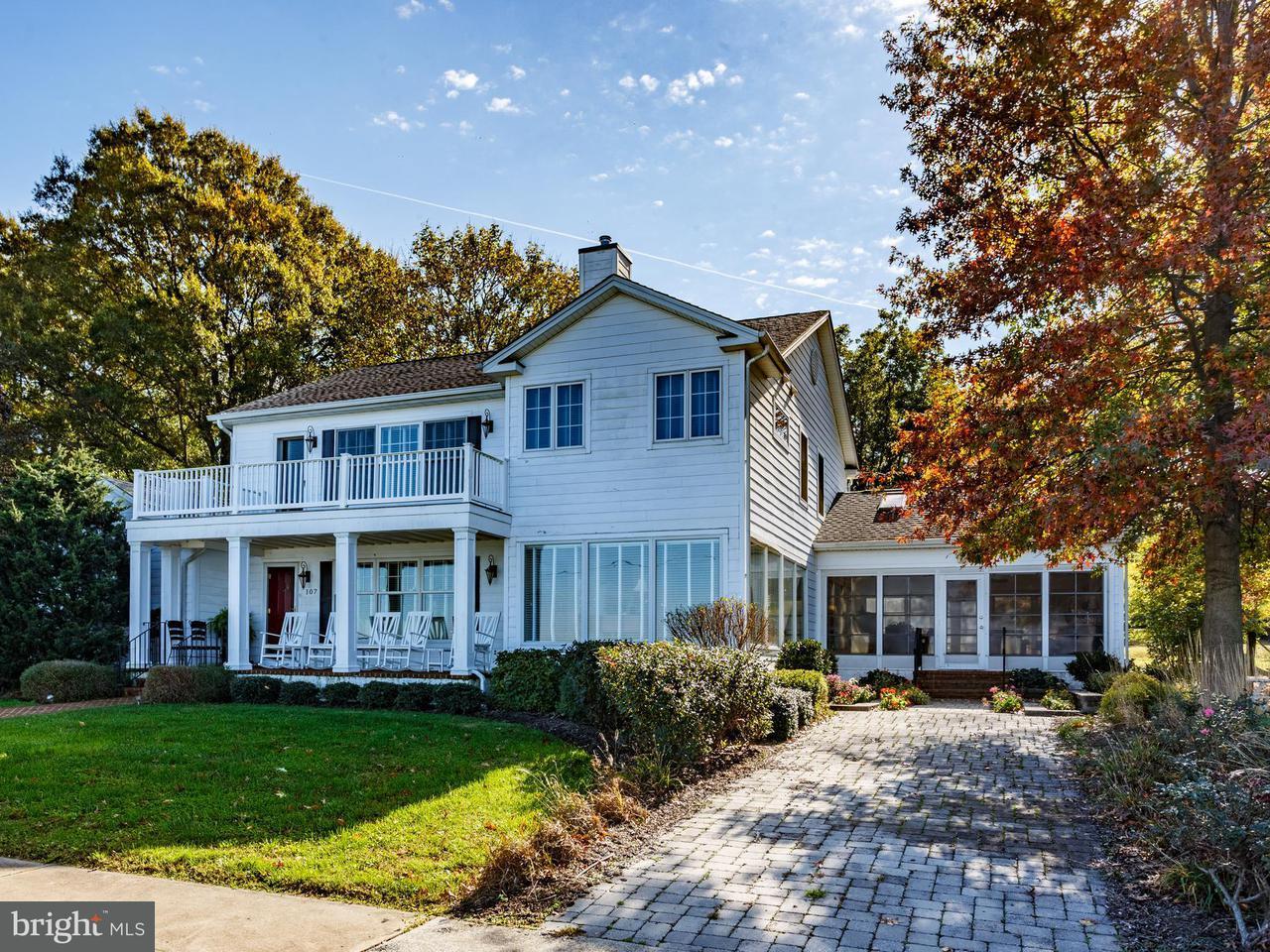 Eensgezinswoning voor Verkoop een t 107 Bayside Blvd 107 Bayside Blvd Betterton, Maryland 21610 Verenigde Staten