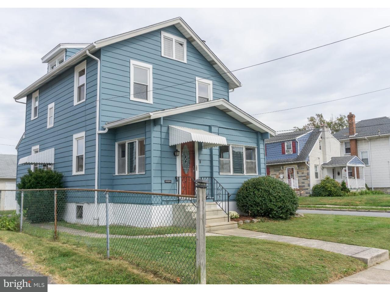 Частный односемейный дом для того Продажа на 301 HINKSON BLVD Ridley Park, Пенсильвания 19078 Соединенные Штаты