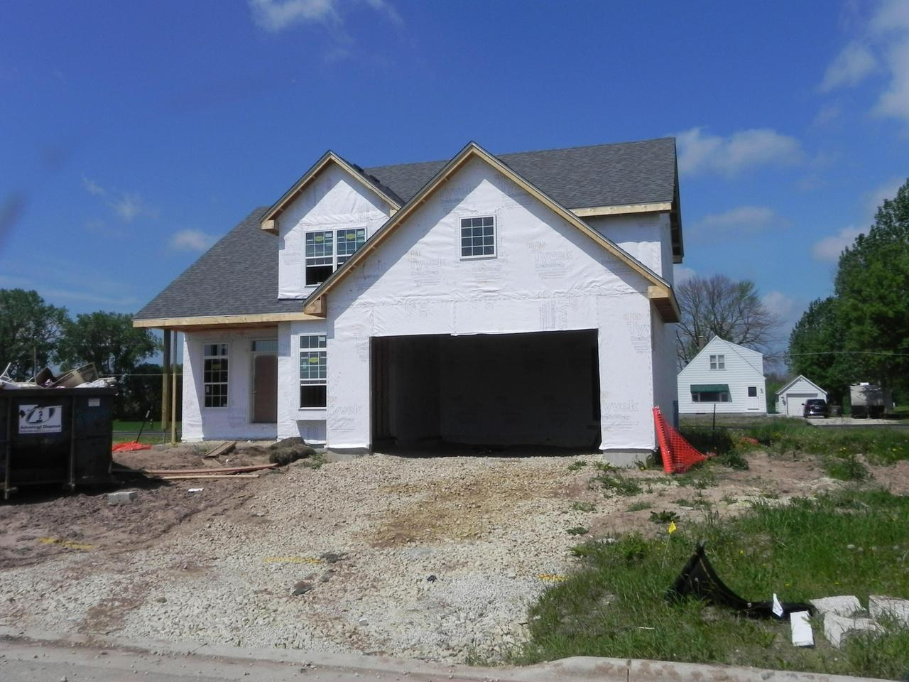NEW CONSTRUCTION TWO STORY COLONIAL OFFERING 2017 DECOR-ENTER FOYER TO A OPEN CONCEPT LIV RM W/GFP,KITCHEN/DINETTE AREA. SPACIOUS KITCHEN WITH GRANITE,ISLAND,WALKIN PANTRY.  1ST FL MUD ROOM W/ LOCKERS + OFF./DEN.  UPPER LEVEL MASTER WITH HIS/HER WALKIN,TRAY CEILINGS & MASTER SUITE-GRANITE,DOUBLE VANITY AND TILE WALKIN SHOWER W/ 2 SHOWER HEADS. THREE OTHER BEDROOMS WITH SPACIOUS CLOSETS.  KOHLER PLUMBING, MAINT. FREE EXTERIOR.  LOWER LEVEL FULL BATH ROUGH & EGRESS WINDOW & RADON SYSTEM.  SEE DOCUMENTS FOR SPEC SHEET,FLOOR PLANS AND PLAT OF SURVEY!!