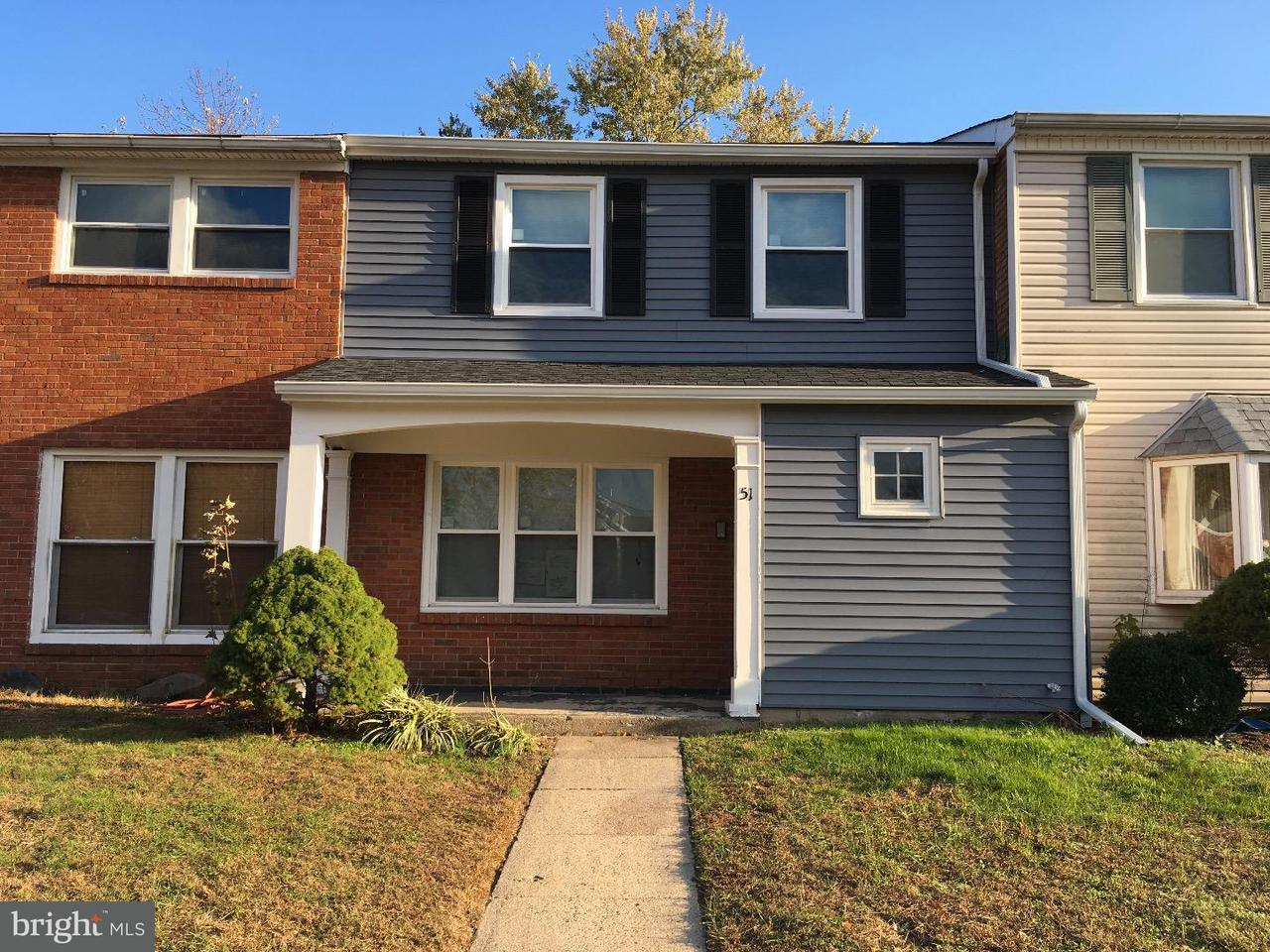 共管式独立产权公寓 为 出租 在 51 RITTENHOUSE Drive Willingboro, 新泽西州 08046 美国