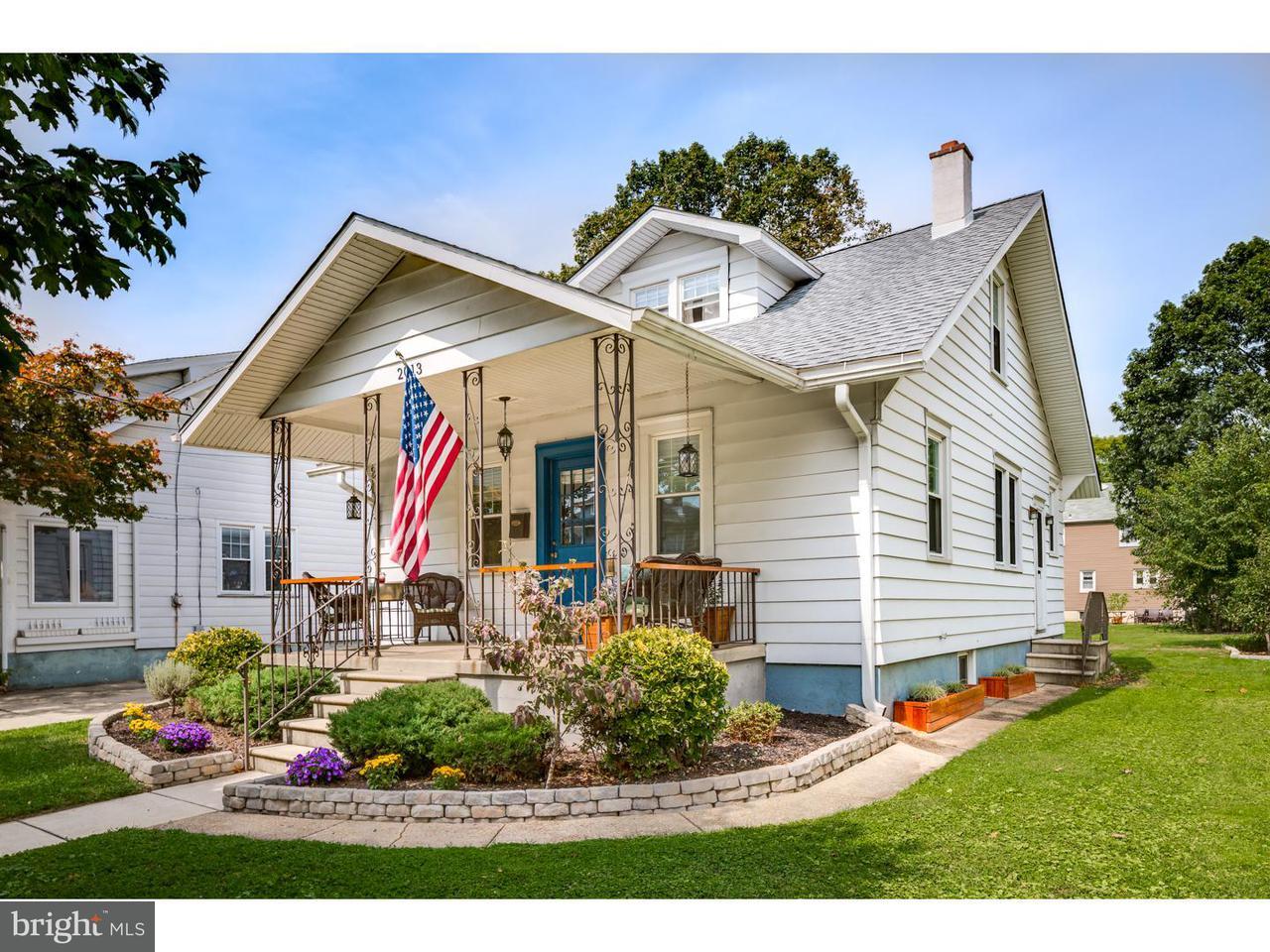 Частный односемейный дом для того Аренда на 2013 SYCAMORE Street Haddon Heights, Нью-Джерси 08035 Соединенные Штаты