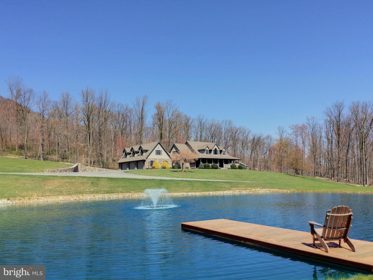 Частный односемейный дом для того Продажа на 4697 CHARLESTOWN Road 4697 CHARLESTOWN Road Mercersburg, Пенсильвания 17236 Соединенные Штаты