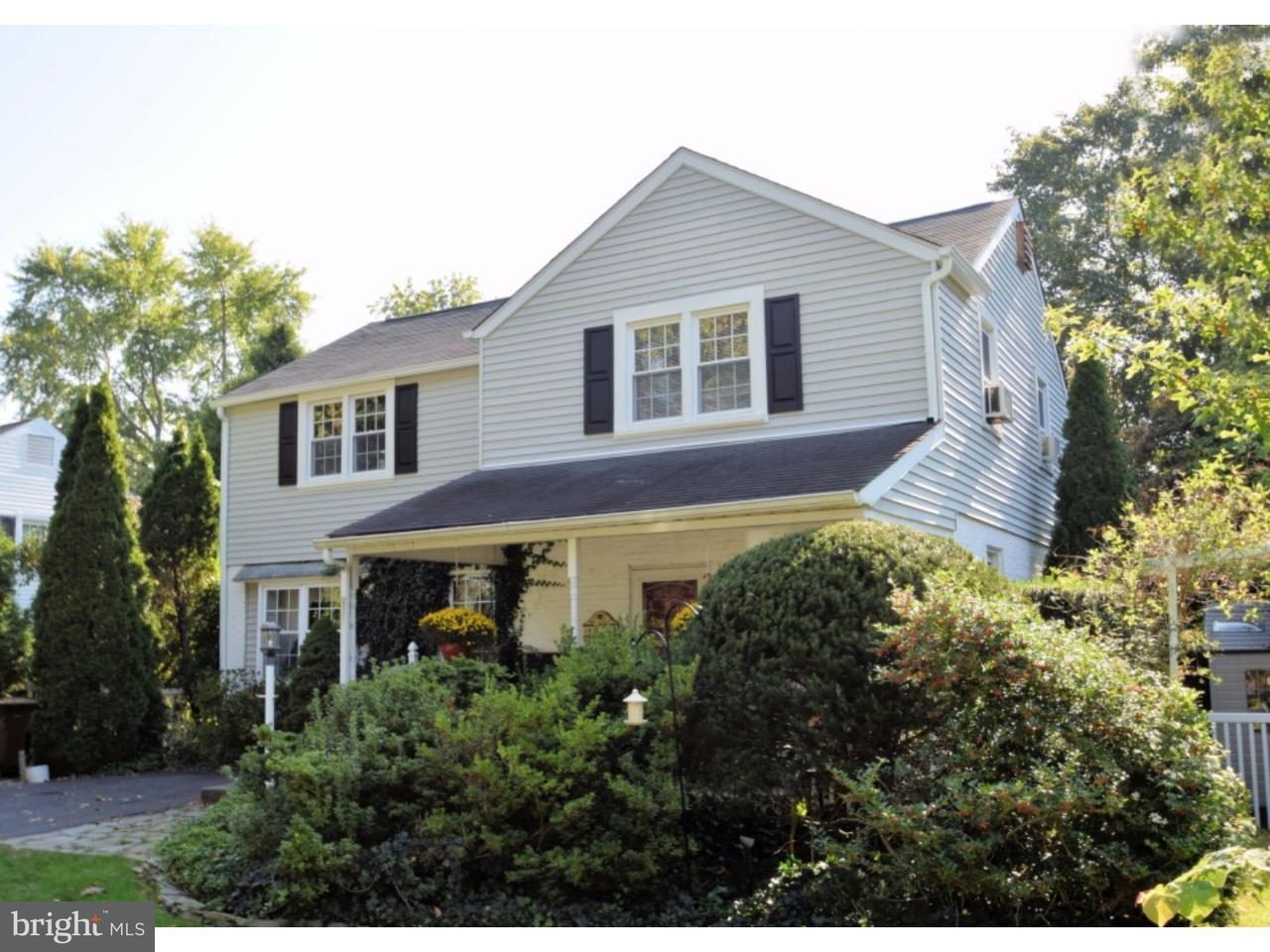 Частный односемейный дом для того Продажа на 324 TWINING Road Oreland, Пенсильвания 19075 Соединенные Штаты