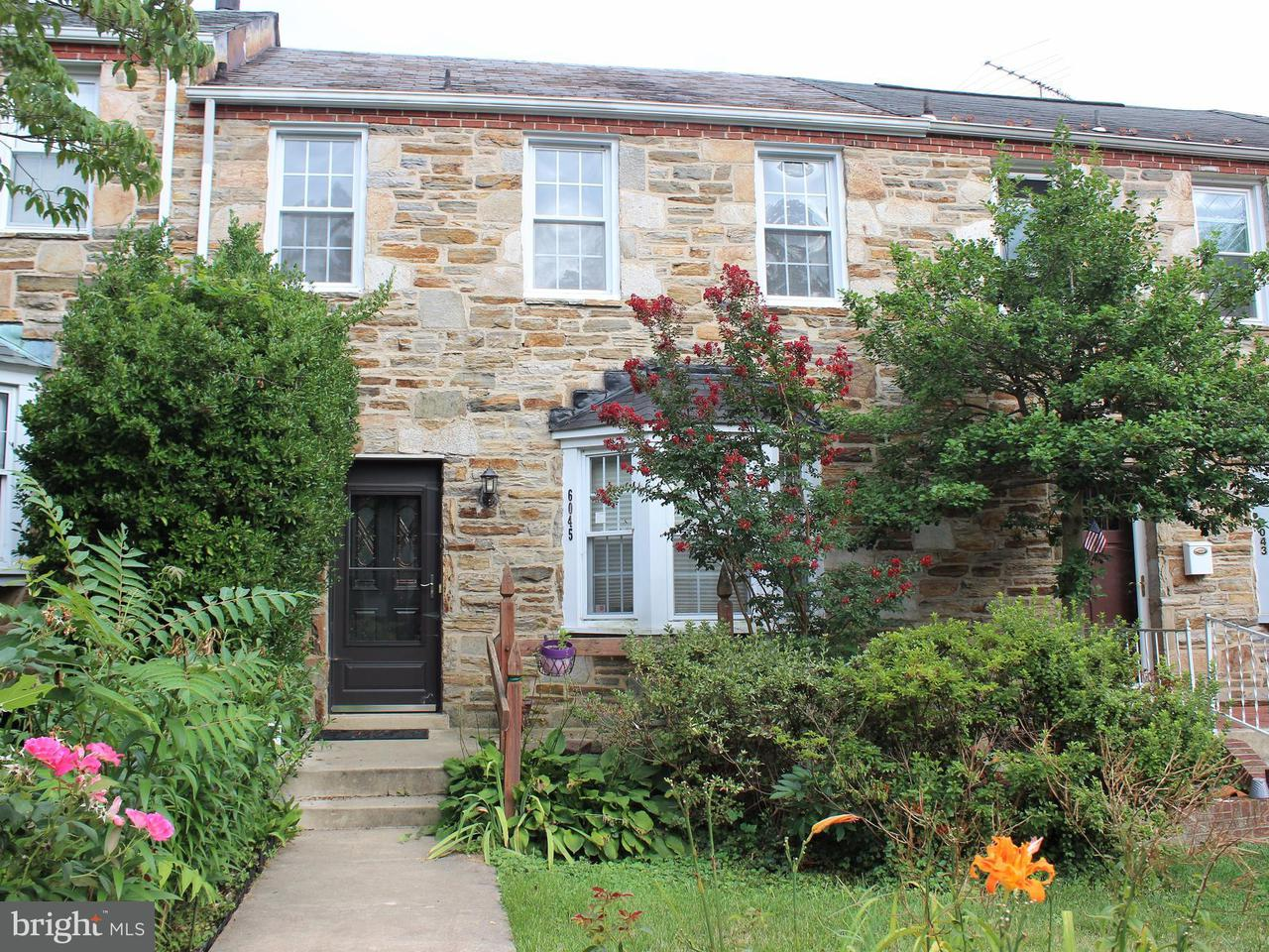 Single Family for Sale at 6045 Yorkshire Dr Baltimore, Maryland 21212 United States