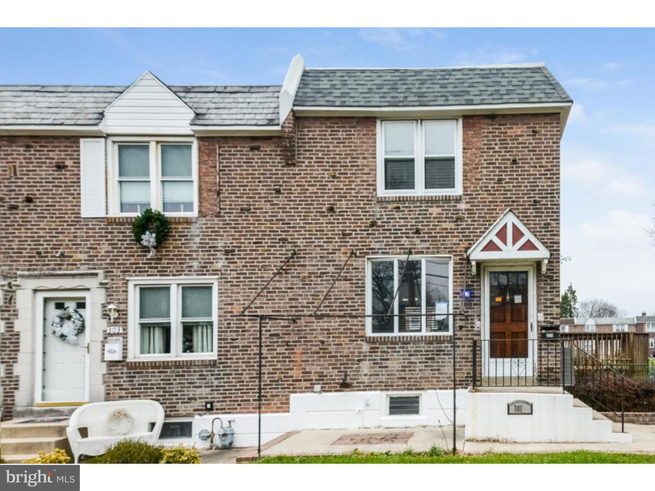 Townhouse for Sale at 301 N BISHOP Avenue Clifton Heights, Pennsylvania 19018 United States