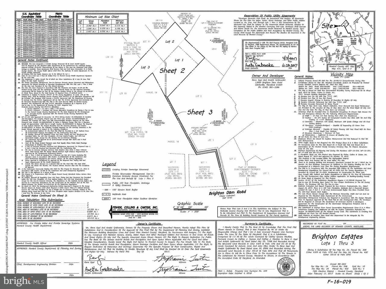 土地 為 出售 在 13000-123 BRIGHTON DAM Road 13000-123 BRIGHTON DAM Road Clarksville, 馬里蘭州 21029 美國