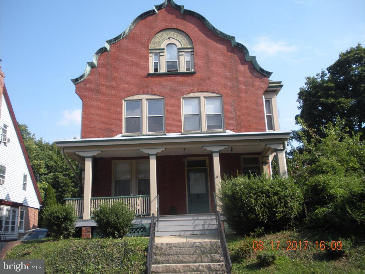 Частный односемейный дом для того Аренда на 1500 N FRANKLIN ST #1 Wilmington, Делавэр 19806 Соединенные Штаты