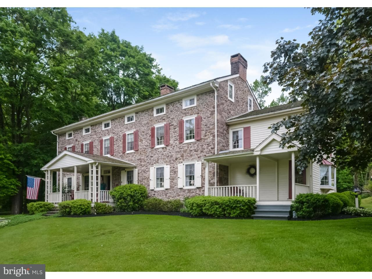 Частный односемейный дом для того Продажа на 1500 SACKETTSFORD Road Ivyland, Пенсильвания 18974 Соединенные Штаты
