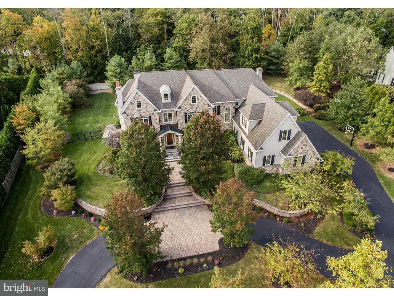 Частный односемейный дом для того Продажа на 861 S PENN OAK Road Lower Gwynedd, Пенсильвания 19002 Соединенные Штаты