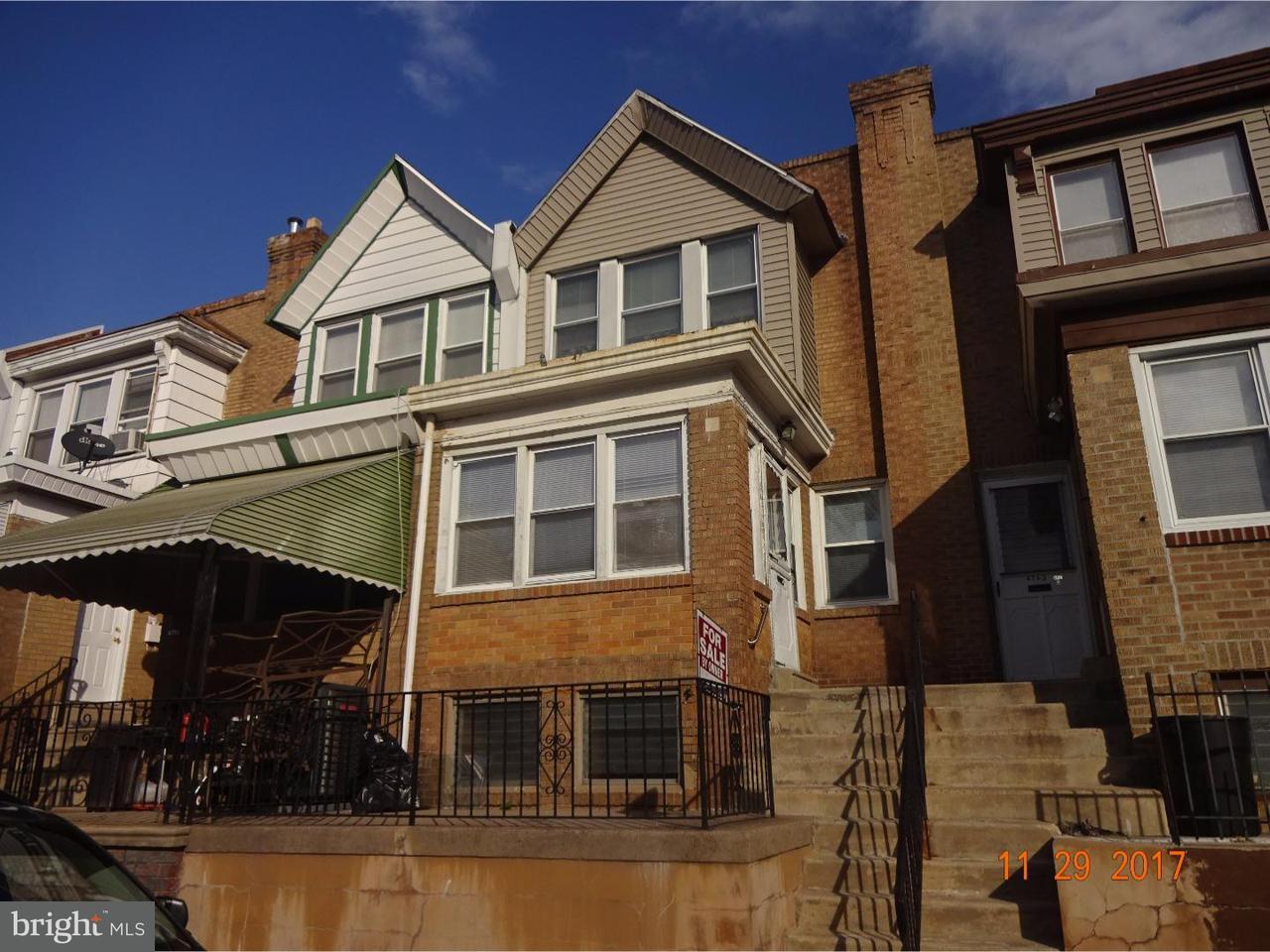 4761  Loring Philadelphia , PA 19136