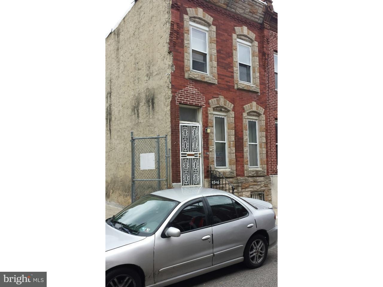 4546 N Bouvier Philadelphia, PA 19140