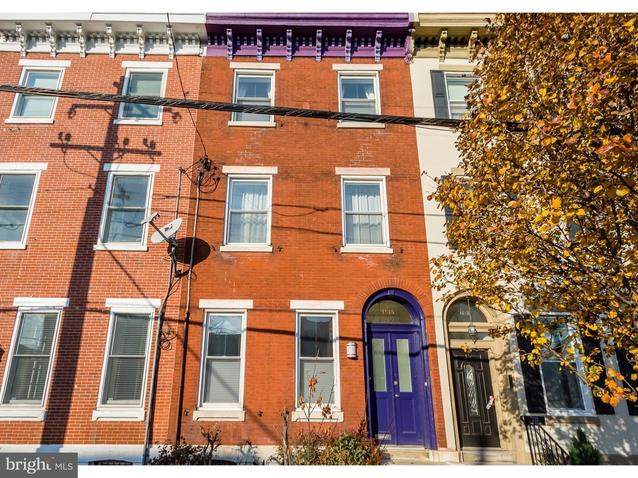 1615  Fairmount Philadelphia , PA 19130