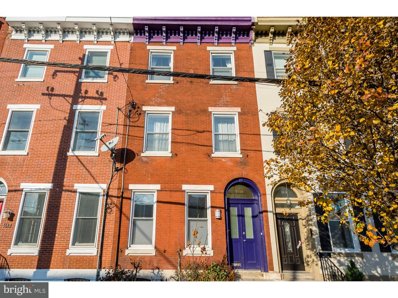 1615  Fairmount Philadelphia, PA 19130