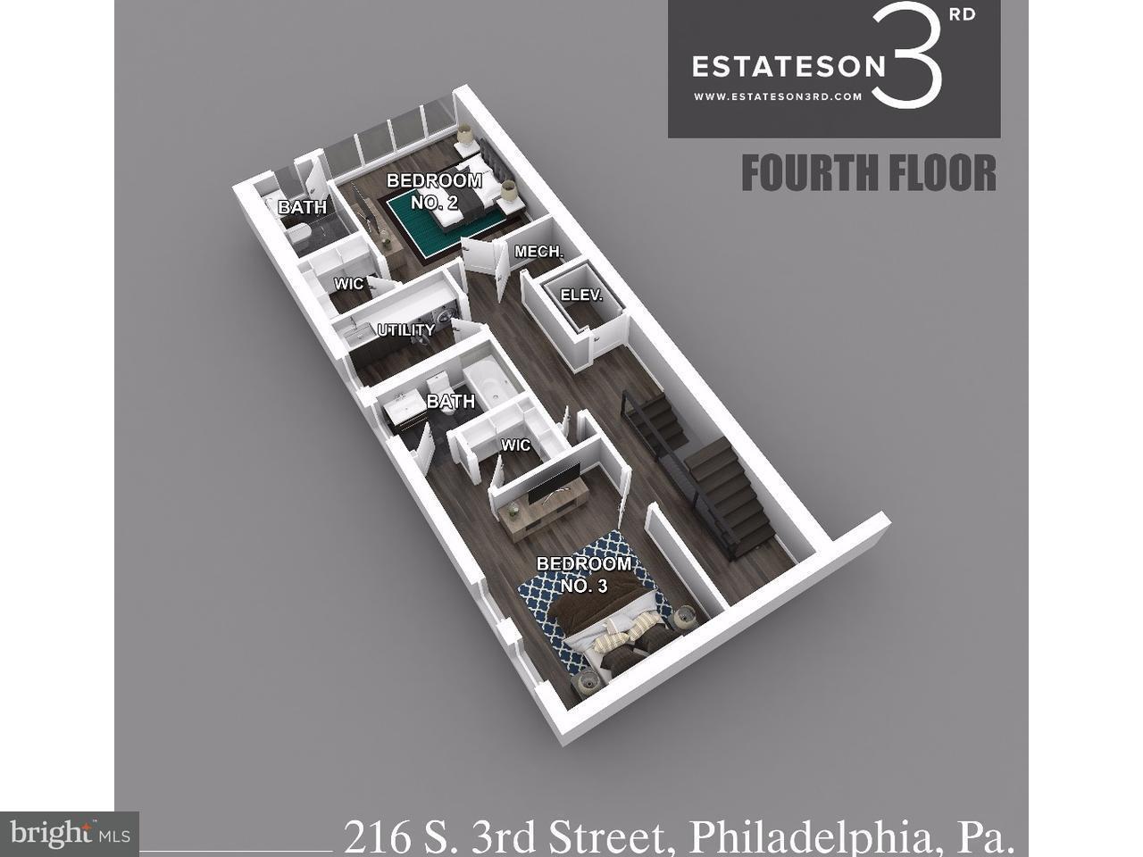 216 S 3RD Philadelphia , PA 19106